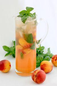Nectarine and Basil Cordial | Huletts Sugar