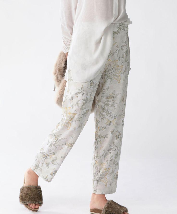 Брюки в индийском стиле - Самые Популярные - Распродажа Осень Зима 2016 на Oysho онлайн: нижнее белье, спортивная одежда, пижамы, купальники, бикини, боди, ночные рубашки, аксессуары, обувь и аксессуары. Модели для каждой женщины!