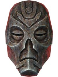 A Dragon Priest Mask is a unique piece of headgear, and can be obtained after defeating each of the eight unique dragon priests that appear in fixed locations throughout Skyrim. Each mask is unique in color and varies in smithing material. Each mask is named after their respective master and have unique effects; they are defined as either Light or Heavy Armor. All dragon priest masks require the Arcane Blacksmith perk to upgrade.