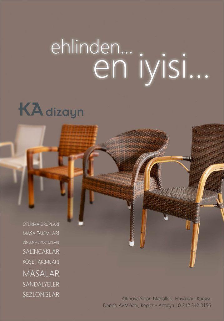 Furniture / Mobilya Sektörü Catalogue and Magazine Advertisement Design / Katalog ve Gazete - Dergi İlan Tasarımları KA Dizayn - Antalya