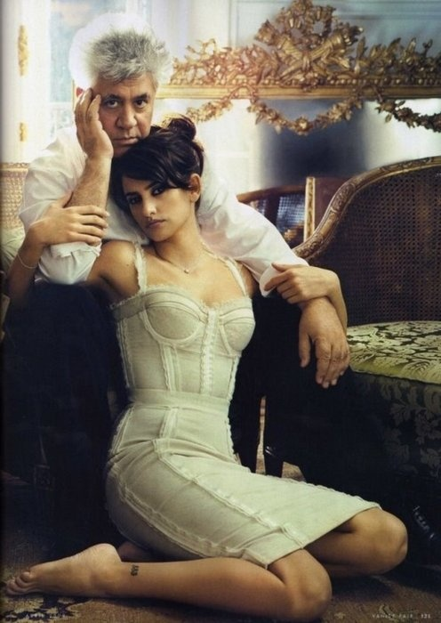 Pedro Almodóvar and his muse