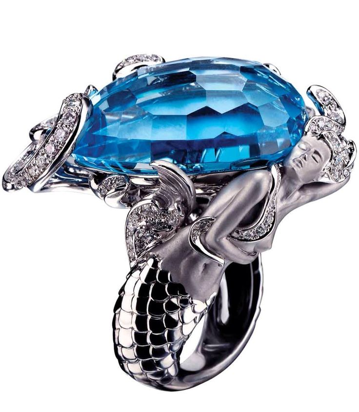 Jewel Worthy-Mermaid Ring by Magerit - Haute Tramp