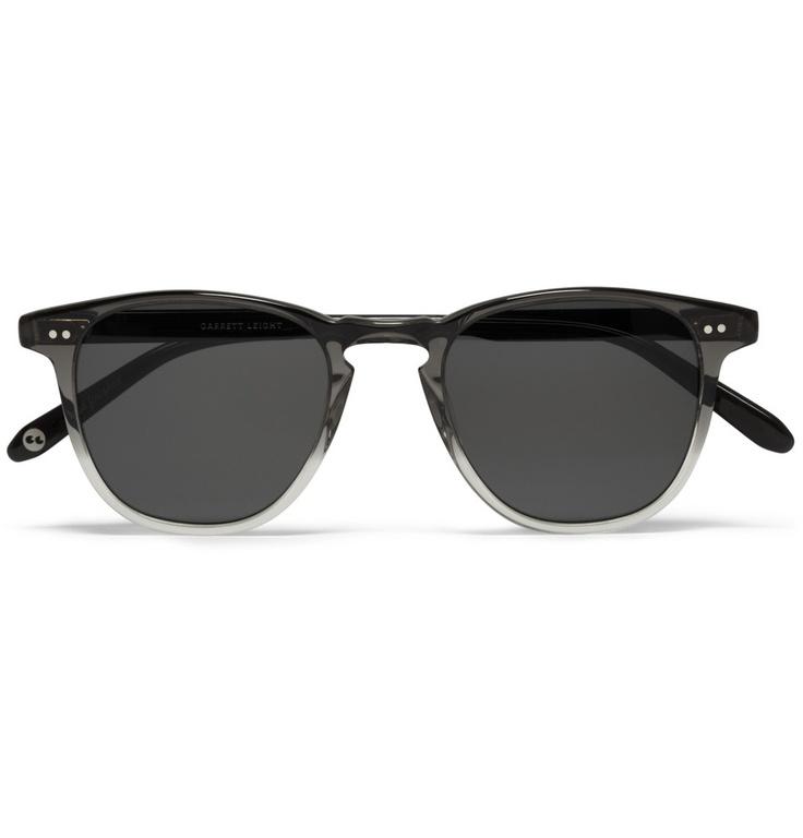 Garrett Leight California OpticalD-Frame Two-Tone Acetate Sunglasses|MR PORTER