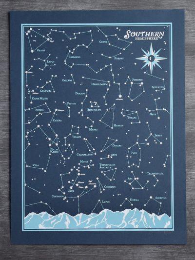 Southern Hemisphere Star Chart | Hello Polly