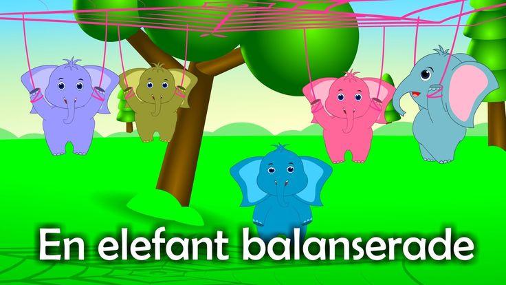 Barnsånger på svenska | En elefant balanserade med mera (35 min)