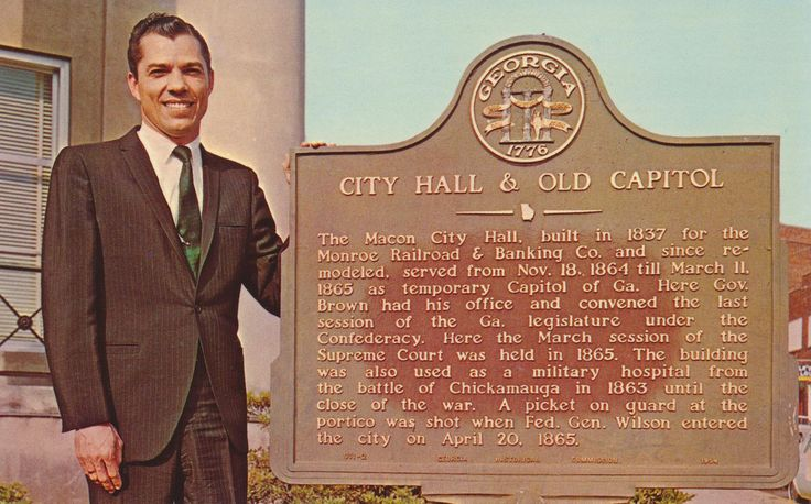 https://flic.kr/p/yDF3BE | Mayor Ronnie Thompson - Macon, Georgia | Macon, Georgia's First Republican Mayor, Elected Nov. 7, 1967 at 33. The youngest man ever to be elected to serve as Macon's Chief Executive.  Dexter Press Inc.