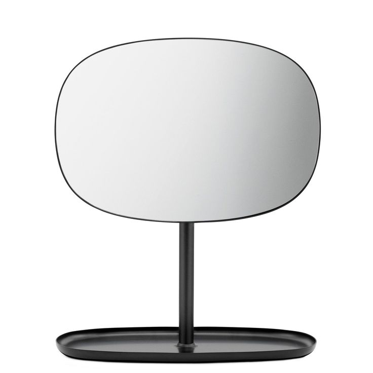 Flip speil, svart i gruppen Inredningsdetaljer / Hjemmets bra å ha / Speil hos ROOM21.no (124357)