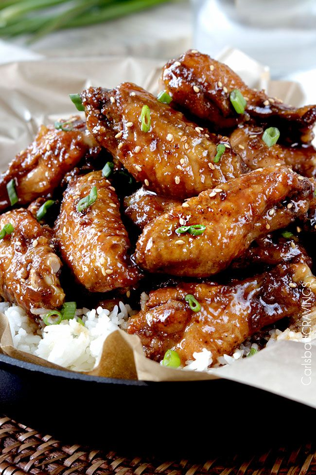 "Your favorite sweet and spicy, ginger, caramel General Tso's sauce now smothering crispy, sticky baked wings –  No breading chicken!  The first chicken recipe I ever shared on Carlsbad Cravings (last February 2014) was Skinny General Tso's Chicken and even title it ""AKA my favorite chicken ever"" because I think it will forever remain my... Read More »"