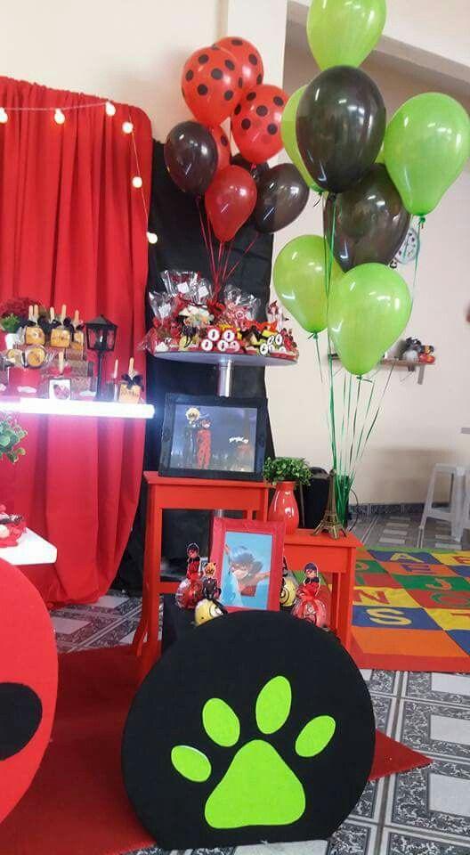 Festa Ladybug - Balões