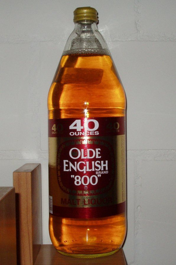 Olde English 800 Miller Brewing Co. American Malt Liquor 5 ...