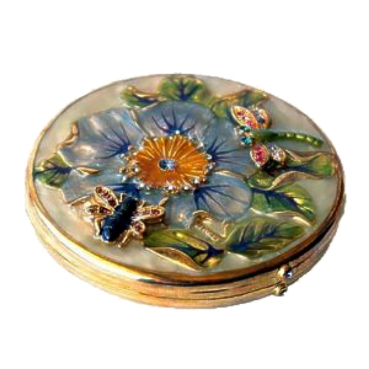 "Swarovski Crystals COMPACT PURSE MIRROR  Save 10% on your order! Use code ""pinterest"" FREE STANDARD SHIPPING ON ALL ORDERS!"