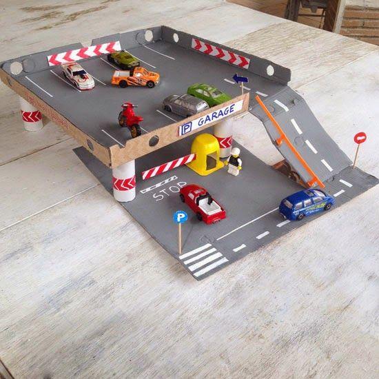 10 brincadeiras para você aproveitar o Dia da Pizza - edificio garagem