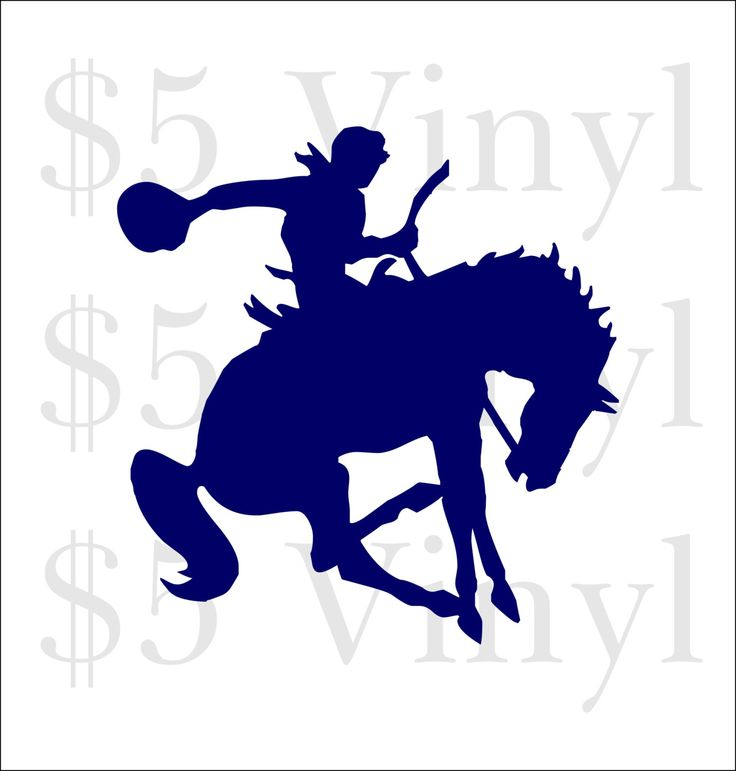 Bucking Bronco Horse Vinyl, Wall Art, Car Decal, Sticker, Window Decal, Pony, Horse, Gallop, Rodeo, Cowboy - pinned by pin4etsy.com