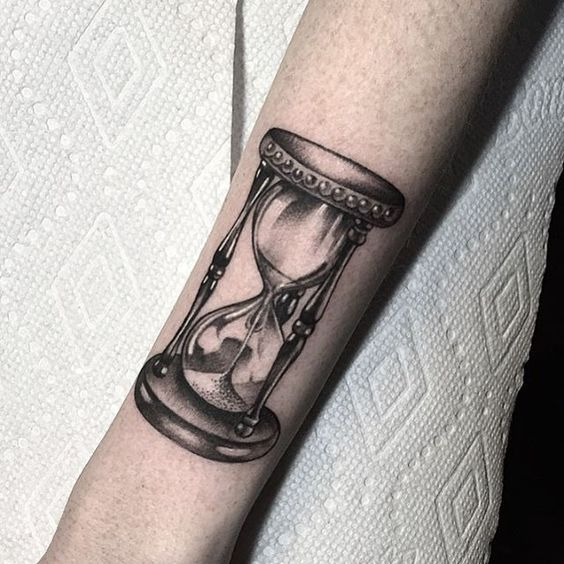 50 best Hourglass Tattoos for Men images on Pinterest ...