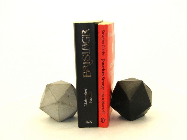 Bryły geometryczne- icosahedrony. - Ale-Beton - Dekoracje