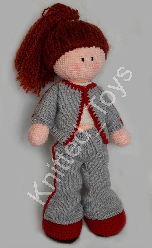 Gehäkelte Puppe /  Crochet Doll  ***Gabriela
