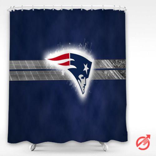 Cheap NFL NEW ENGLAND PATRIOTS nfl football Shower Curtain