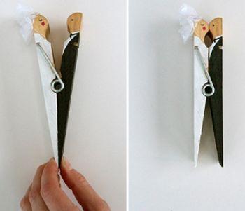 Поделки из деревянных бельевых прищепок своими руками :: Всякая всячина :: Сайт podelki-online.ru