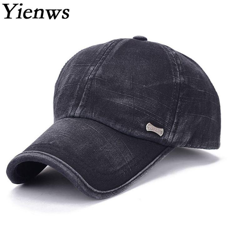 Yienws Man Classic Baseball Cap For Man Summer Cap Hat Bone Aba Curva Black  Army Full Trucker Cap YH262  ba5cb6c4caf11