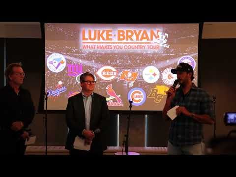 """Luke Bryan Adds Stadium Shows to """"What Makes You Country"""" Tour 