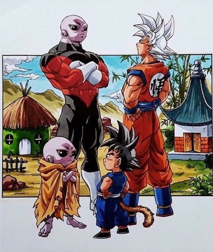 Goku and Jiren. They both came a long way
