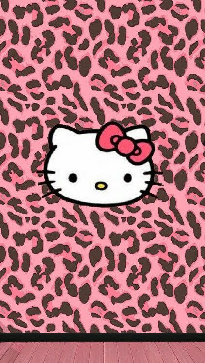 red leopard hello kitty wallpaper-#4
