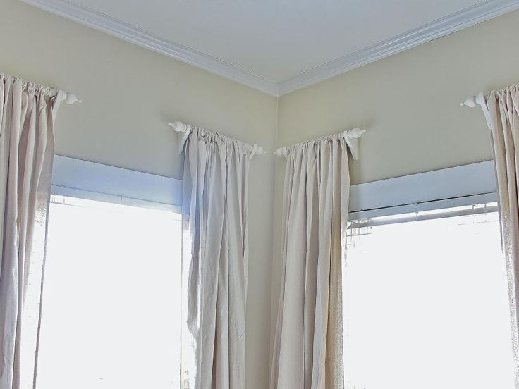 Creative Kitchen Window Treatments Hgtv Pictures Ideas: 30 Best Images About Short Curtain Rods On Pinterest