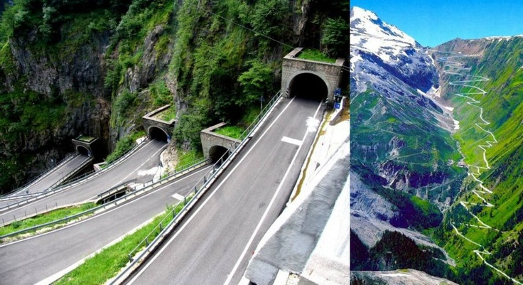 Italy: The San Boldo Pass. The perfect longboard ride