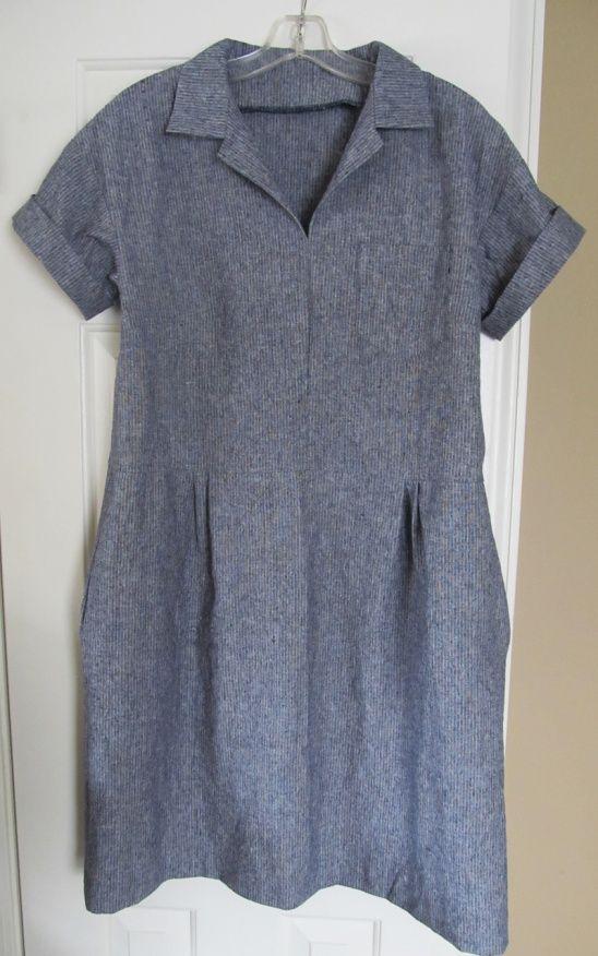 Merchant & Mills Factory Dress by Miss Dandy