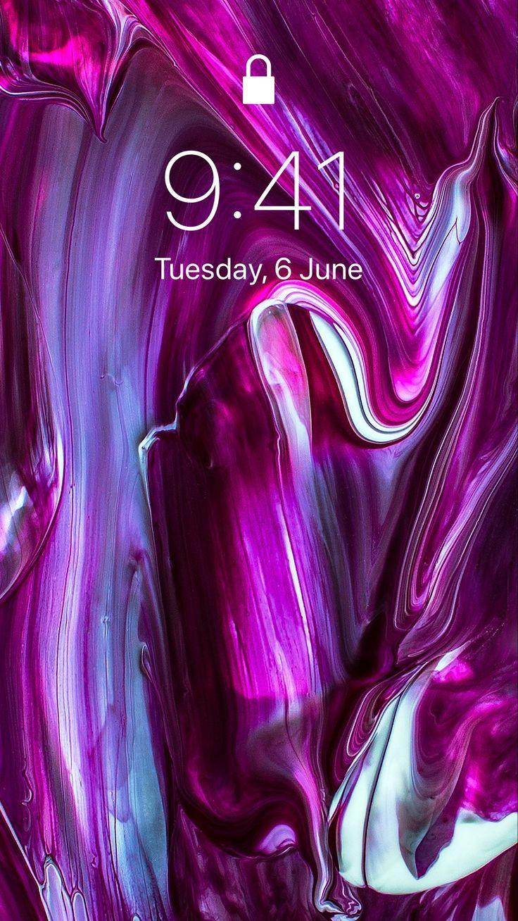 Iphone Hintergrundbild Malen Tropft Linien Lila Hellen Hintergrund Wallpaper Hd Iphone Ipad Hintergrundbild Purple Wallpaper Iphone Watercolor Wallpaper Iphone Purple Wallpaper