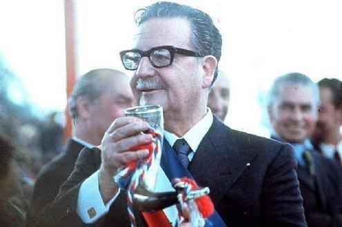 Salvador Allende Presidente de Chile
