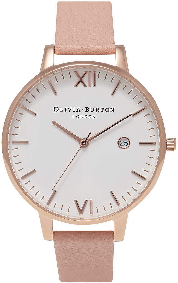 Womens pink beige olivia burton timeless dusty pink