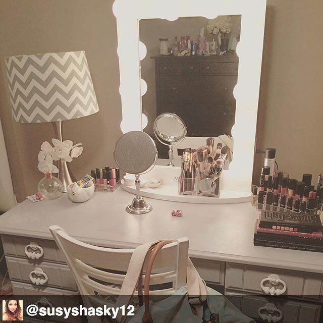 Hollywood Chic XL Vanity Mirror | Vanities, Makeup ...