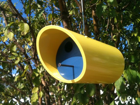 Bird houses pvc pipes and pipes on pinterest for How to make pvc pipe birds