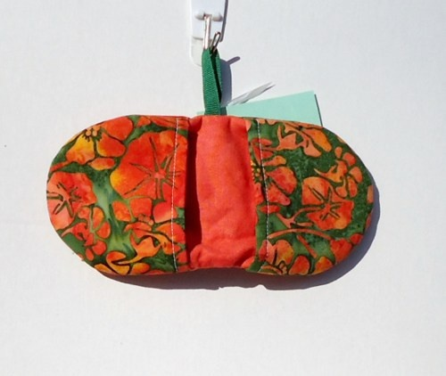 Batik Tropical Flowers Microwave Oven Mitt | vabeachquilter - Housewares on ArtFire