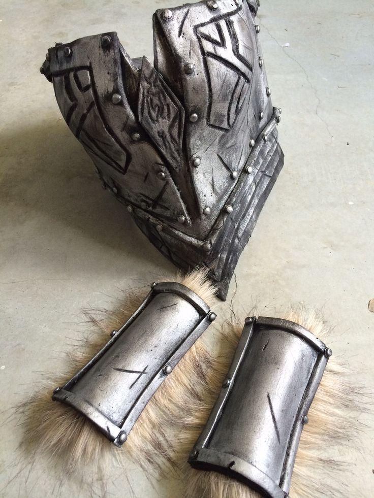Skyrim Metal Armor Eva Foam Cosplay Cosplay Outfits