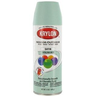 Krylon Pistachio Green Spray Paint