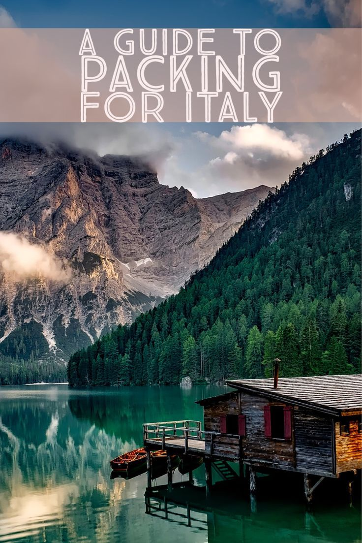Going to Italy on Vacation and don't know what to pack? Here are the basics and beyond.
