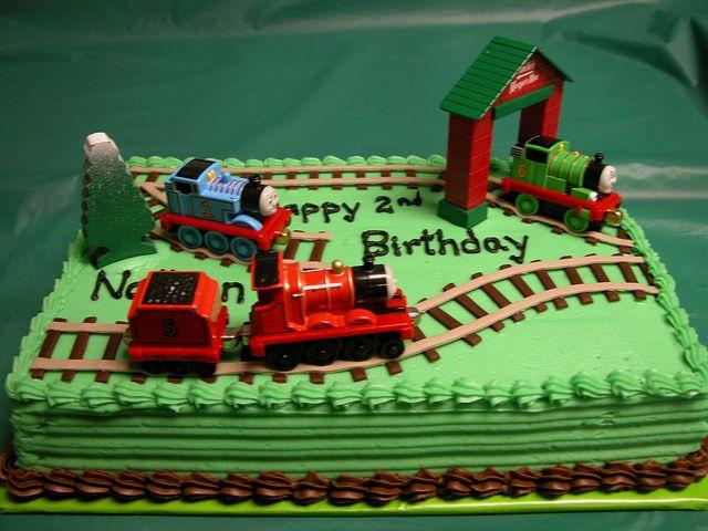 Thomas the Train Cake by GRAMPASSTORE, via Flickr