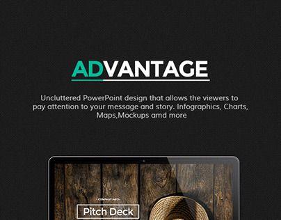 35 best Portfolio PowerPoint Templates images on Pinterest - it powerpoint template