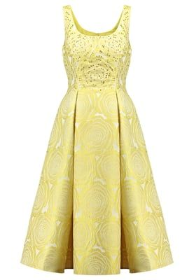 Cocktailkleid / festliches Kleid - yellow