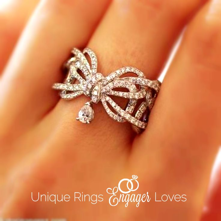 Unique custom designed engagement ring remarkable concept on hand Please repin and follow! See all #UniqueRingsEngagerLoves. We appreciate #unique #engagementrings that tell the couple's story