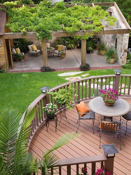 Terrasse bauen Anleitung und 20 kreative Design-Ideen! –  – #außenküche #anleitung #bauen #design #enkuche