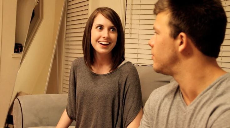 "Breaking Up with Overly Attached Girlfriend---""I just want to live in your socks so I can be with you every step of the way""  <---lol!"