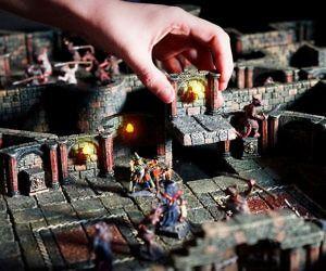Handcrafted Modular D&D Game Terrain