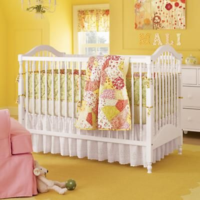 Finally the crib I want!!! Baby Cribs: Classic White Wooden Baby Crib