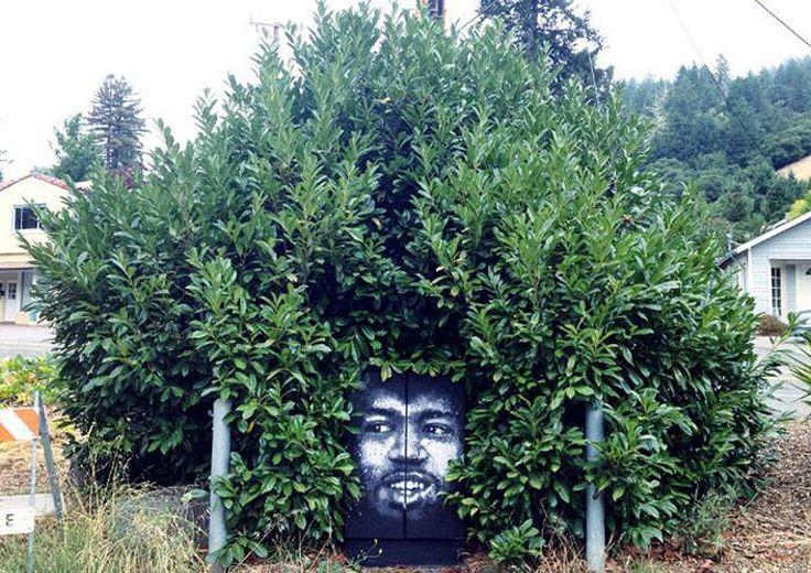 l'arte che interagisce con la natura di Zaltron http://restreet.altervista.org/la-collaborazione-tra-arte-e-natura-piu-creare-qualcosa-di-veramente-unico/