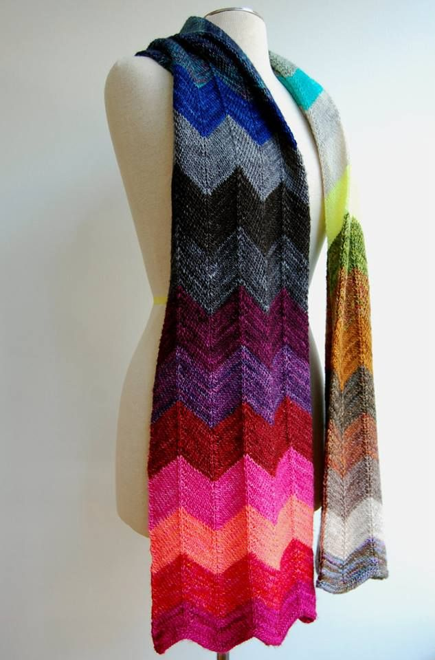 1000+ images about Knitting - Scarves on Pinterest