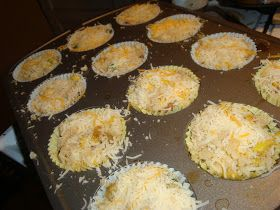 Bariatric Foodie: BF Kid Zone (part deux): Cheesy Mashed Cauliflower Cups