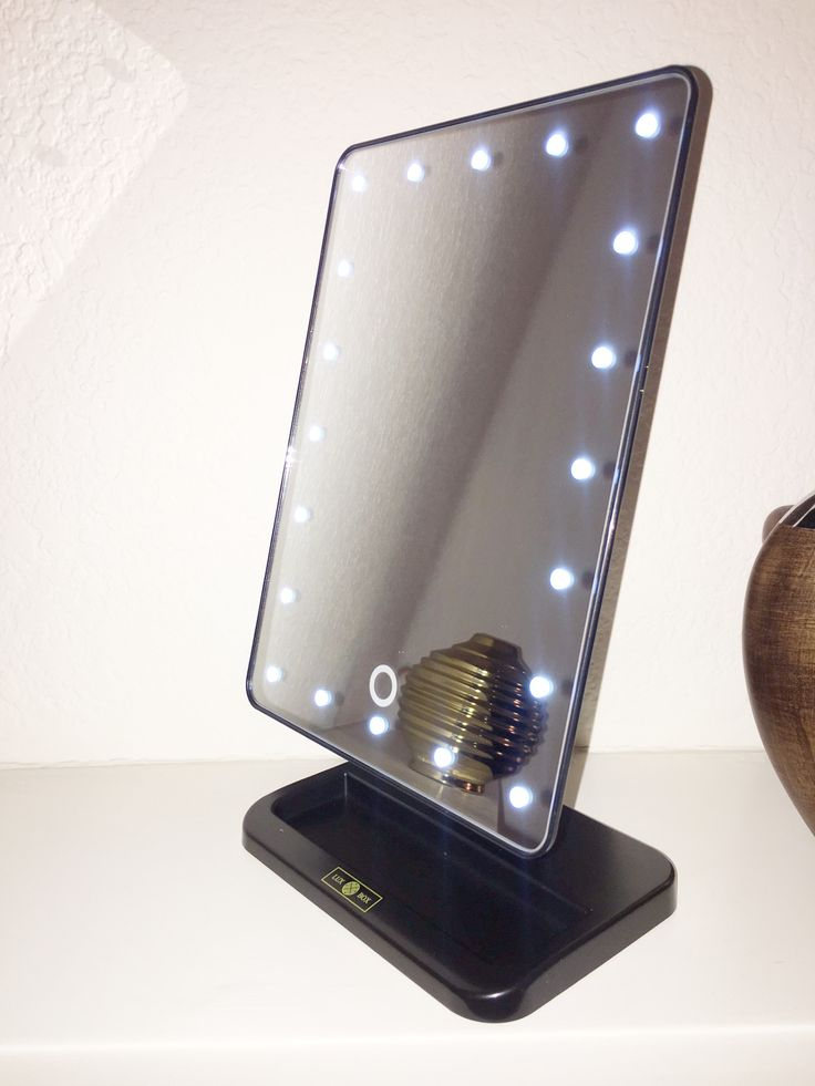 LUX LED Lights Vanity MirrorBest 25  Makeup table with lights ideas on Pinterest   Vanity  . Portable Vanity Mirror With Lights. Home Design Ideas